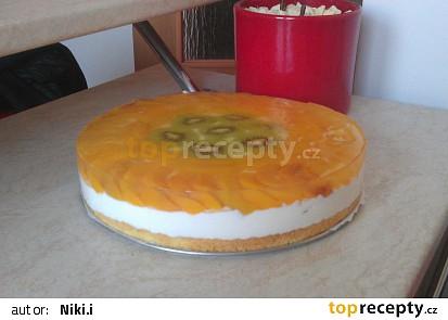 Ovocný dortík se želatinou