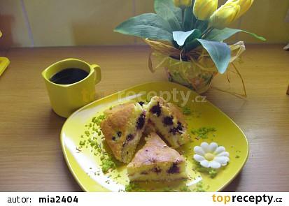 Ovocný koláč s tvarohem