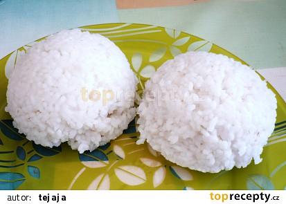 Rýže dušená v mikrovlnce