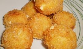 Smažené sýrové koule