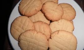 Sušenky s arašídovým máslem