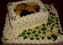 Svatební dort 10