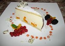 Tvarohovo smetanový dort s mandarinkami