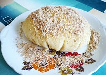 Tvarohový pudding  Retro