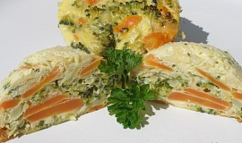 Bábovičky z mrkve a brokolice