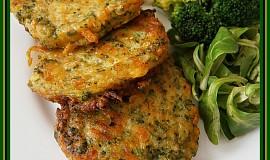 Brokolicovo - mrkvové placičky