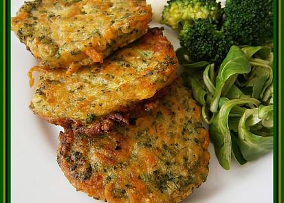 Brokolicovo-mrkvové placičky
