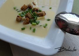 Chřestová polévka s krutony