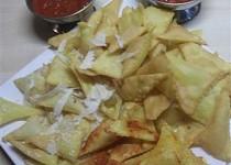 Domácí NACHOS - kukuřičné chipsy