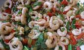 Krevety po thajsku z dostupných surovin
