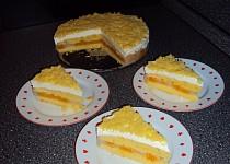 Lehký dort s mandarinkami