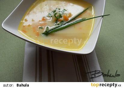 Mrkvová polévka s kedlubnou