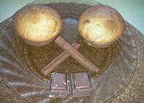 Muffiny se zakysanou smetanou