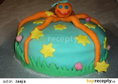 Můj první marcipánový dort