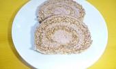 Ořechová roláda bez mouky