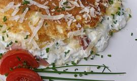 Plněná šlehaná omeleta