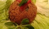 Pomazánka z kuřecích  jatýrek  s pikantní příchutí