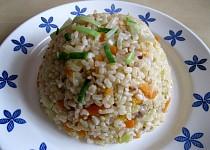 Rýže natural s čínskou zeleninou