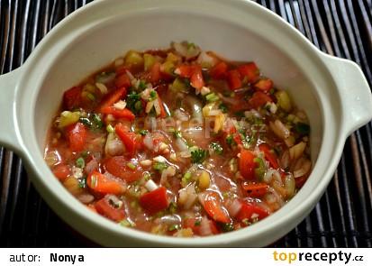 Salsa z Chile -Pebre
