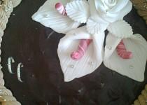 Smrt čokoládou - dort k výročí svatby