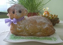 Vanilkový beránek (bábovka)