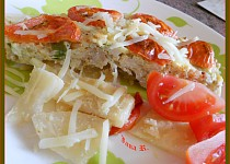 Zapékaný celer s rýžovo-masovou náplní