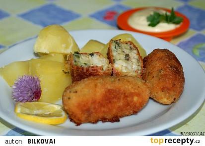 Bramborovo-rybí karbanátky