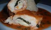 Česnáčková kuřecí prsa ve svěží omáčce