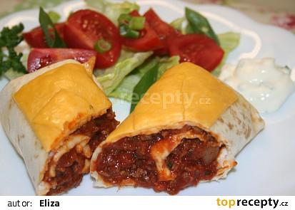 Hovězí burrito  (tex-mex)