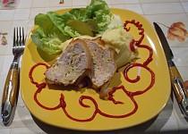 Kuřecí prsíčka v slaninovém  županu