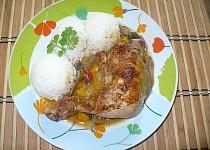 Kuře na zeleninové směsi