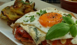Kuřecí plátky s ostrou zeleninou a vajíčkem