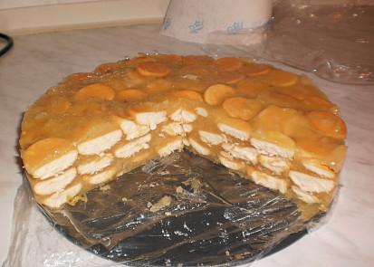 Hotový dortík