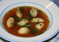 Pažitkovo - sýrové noky do polévky