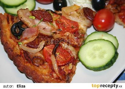 Pizza z české cmundérie