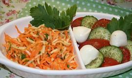 Švýcarský mrkvový salát