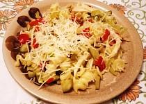 Těstovinový salát s fenyklem