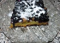 Bramborovo-borůvkový koláč