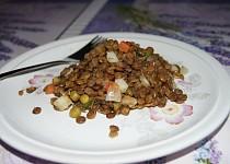 Čočkový salát s Moravankou
