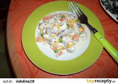 Domácí rybí salát