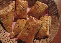 Kapsičky z listového těsta