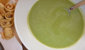 Krémová mangoldová polévka