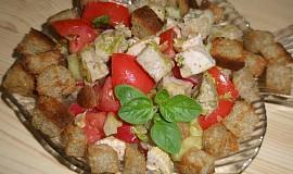 Kuřecí salát s čínským zelím