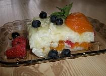 Ledový rýžový nákyp s pudinkem