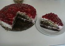 Letní svěží dortík