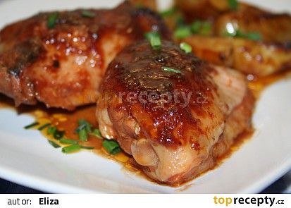Medová marináda na kuřecí maso