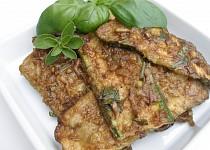 Marinované cukety se zeleným pepřem