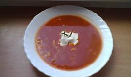 Rajská polévka s krupičnými knedlíčky