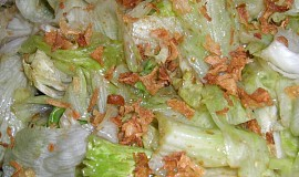 Smažený hlávkový salát