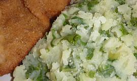 Šťouchané brambory s mangoldem